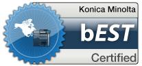 Konica Minolta bEST Certified